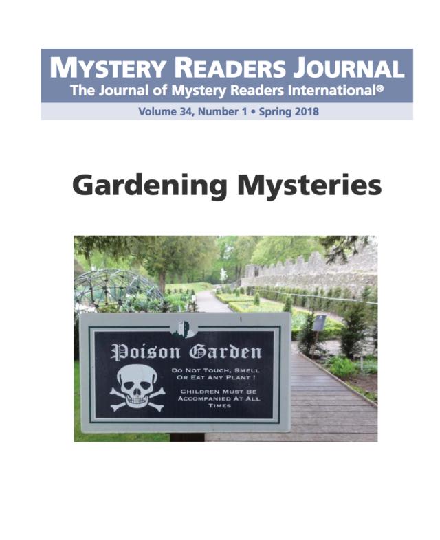 Mystery Reader: Mystery Readers Journal: Gardening Mysteries